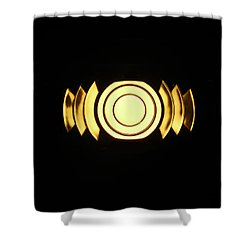 Infinite Gold By Jan Marvin Shower Curtain