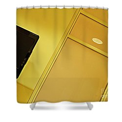 Infusion Suite Wall Shower Curtain by Sarah Loft