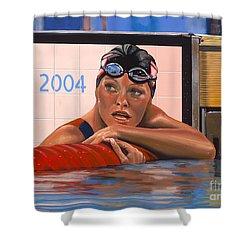Inge De Bruijn Shower Curtain by Paul Meijering
