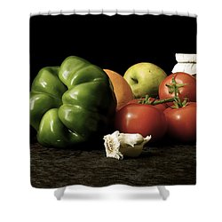 Ingredients Shower Curtain