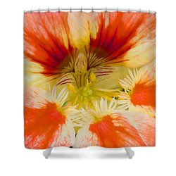 Shower Curtain featuring the photograph Ink Blot by Heidi Smith