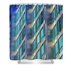 Inland Steel Building Shower Curtain