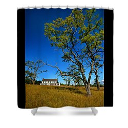 Inn On Sleeping Bear Shower Curtain