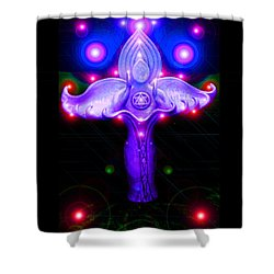 Inner Galactic Symphonics Shower Curtain