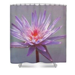 Inner Glow Shower Curtain by Kim Hojnacki