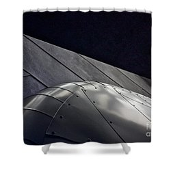 Inner Space 2 Shower Curtain by Linda Bianic