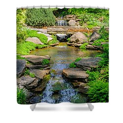 Inniswood Metro Park Photo Shower Curtain