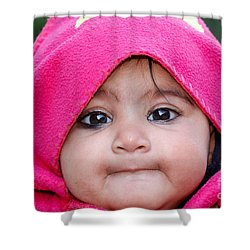 Shower Curtain featuring the photograph Innocence by Fotosas Photography