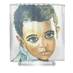 Innocent Sorrow Shower Curtain