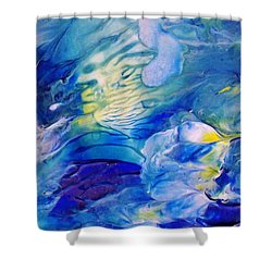 Inside A Wave Shower Curtain