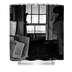 Inside Abandonment 2 Shower Curtain by Tara Lynn