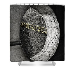 Inside Out - Abstract Shower Curtain by Steven Milner