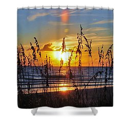 Inside The Sunset Shower Curtain