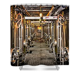 Inside Winery Shower Curtain by Elena Elisseeva