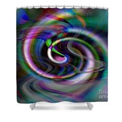 Inspiral Car Shower Curtain