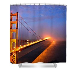 Inspiration  Moved Me Brightly Shower Curtain