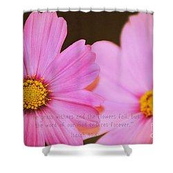 Inspirational Flower 2 Shower Curtain
