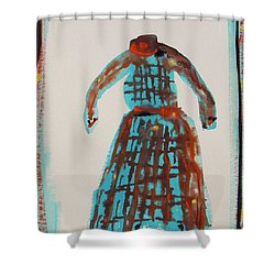 Inspired By Vuillard Shower Curtain by Mary Carol Williams