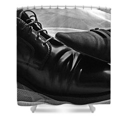 Shower Curtain featuring the photograph Instep by Lisa Phillips