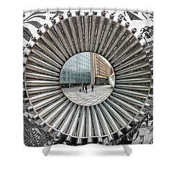Institut Du Monde Arabe - Paris Shower Curtain by Luciano Mortula