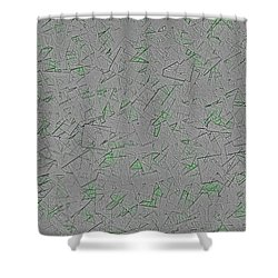 Instone Shower Curtain by Jeff Iverson