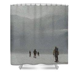 Insurmountable Shower Curtain