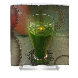 Intense Juicing Shower Curtain