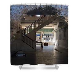 Interior Reflection Shower Curtain by Melinda Fawver
