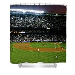 Interiors Of A Stadium, Yankee Stadium Shower Curtain