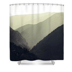 Interleaving Giants Shower Curtain