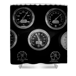 Internal Mechanics Uss Bowfin Pearl Harbor V3 Shower Curtain by Douglas Barnard