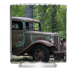 International At Cle Elum Shower Curtain