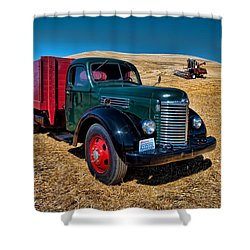 International Farm Truck Shower Curtain