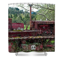 International Harvester Shower Curtain