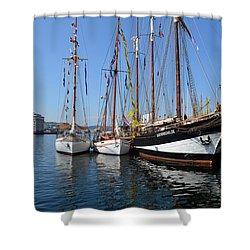 International Sailing Festival In Bergen Norway 2 Shower Curtain