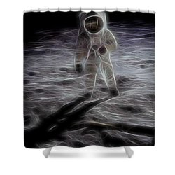 Interstellar Shower Curtain by Dan Sproul