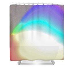 Into One Shower Curtain by First Star Art