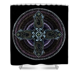 Into One's Highest Shower Curtain by Keiko Katsuta