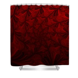 Shower Curtain featuring the digital art Into The Dream by Elizabeth McTaggart