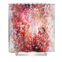 Into The Enchantment Shower Curtain by Rachel Christine Nowicki