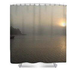 Into The Fog  Shower Curtain by Debbie Oppermann