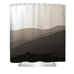 Into The Israel Desert - 1 Shower Curtain