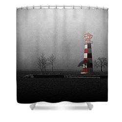 Into The Light Shower Curtain by Trish Mistric
