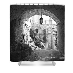 Shower Curtain featuring the photograph Into The Light by Victoria Harrington