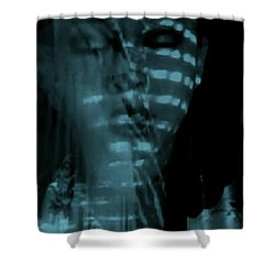 Shower Curtain featuring the photograph Into The Lull  by Jessica Shelton