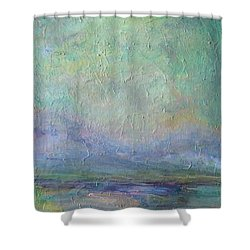 Into The Morning Shower Curtain