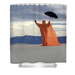 Into The Mystic 3 Shower Curtain by Bob Christopher
