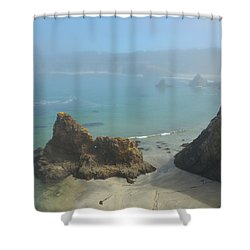Into The Mystic Shower Curtain