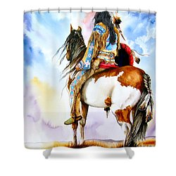 Into The Promised Land Shower Curtain