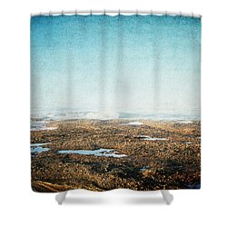 Into The Sea Shower Curtain by Lisa Parrish